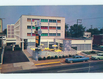 Pre-1980 OLD CARS & COMMODORE MOTEL Nashville Tennessee TN M2567