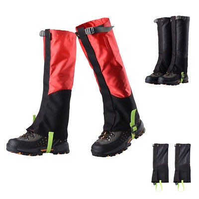 1Pair Waterproof Outdoor Hiking Walking Climbing Hunting Snow Legging Gaiter
