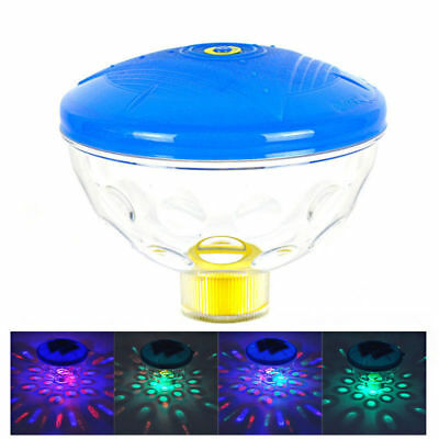 Underwater RGB LED Glow Floating Light Bath Spa Swimming Pool Disco Party Lamp