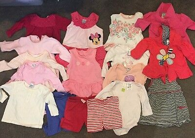 Bulk Baby Girls Size 00 3-6 Months Clothes Winter Summer 17 Items Pumpkin Patch