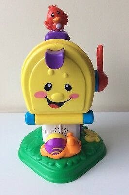 Fisher Price Letter Box Mailbox With Parcel