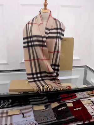 Burberry-Scarf-New-With-Tag-100-Cashmere-Autehntic-2017