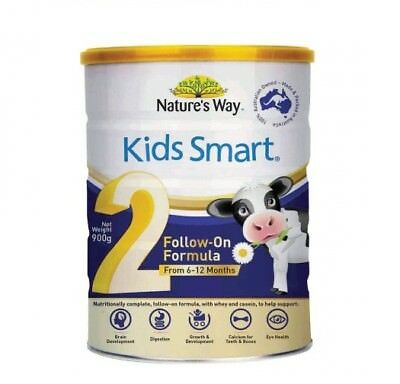 Natures Way Kids Smart Follow On Formula Stage 2 900g x 6 (EXP 06/10/17)