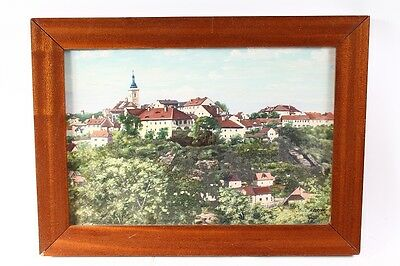 Beautiful Age Picture Frame Wood Frame Painting Art Landscape