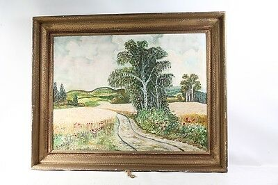 Beautiful Age Picture Frame Wood with Painting Frame