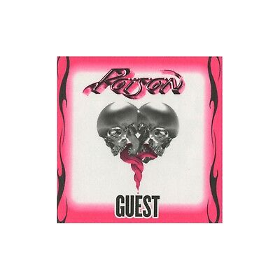 Poison Green authentic 2008 Live, Raw & Uncut Tour satin backstage pass guest