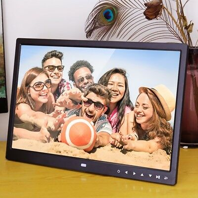 Function 15-Inch Digital Photo Frame with Multimedia Playback With Touch Button