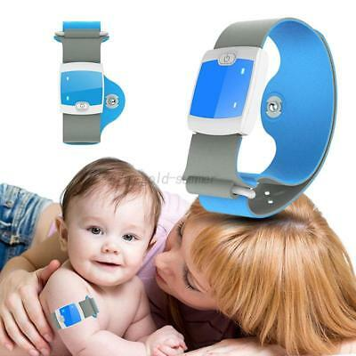 Smart Safe Wireless Bluetooth Wristband Thermometer Baby Temperature Monitor