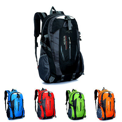 40L New Outdoor Camping Sport Bag Travel Waterproof Pack Climbing Backpack