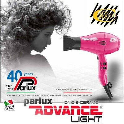 Phon Asciugacapelli Parlux Ionic e Ceramic Advance Light 2200 Watt - *Fucsia*