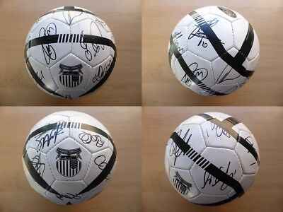 Official Grimsby Town Football Signed by Squad (11472)