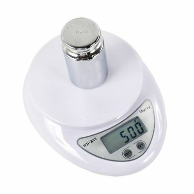 5kg/1g Digital Kitchen Food Scale Weight Balance Electronic Diet Postal Gram JF