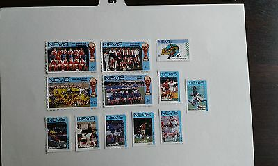 nevis stamps 1986