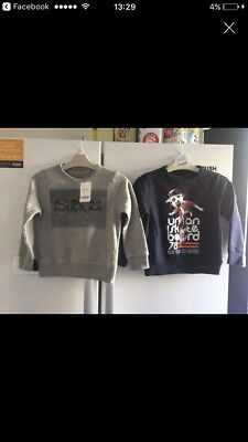 Boys Next Jumpers Age 3 new