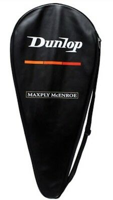 Dunlop McEnroe Maxply Tennis Racquet BNWT Never Used Unstrung, Cover, Grip 4 1/2