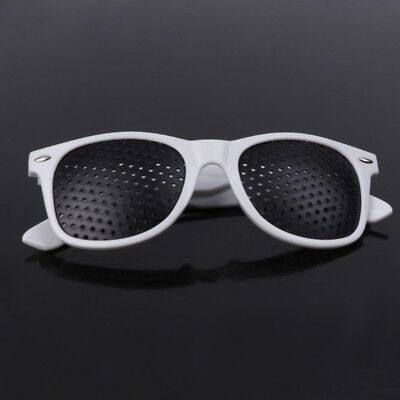 Pin Hole Glasses Exercise Eyewear Eyesight Improvement Vision Glasses Training