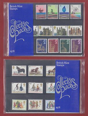 1978 Collectors Year Pack with unmounted mint MNH stamps