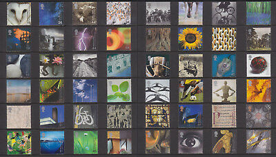 2000 Complete Year (12 sets) Millennium Projects commemoratives mint MNH