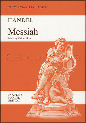 G F Handel Messiah New Novello Choral Edition Sheet Music Book Vocal Score