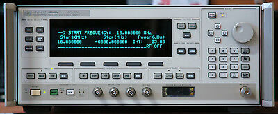 Hewlett Packard 83640A /1/8 Synthesized Swept-Signal Generator, 10 MHz - 40 GHz