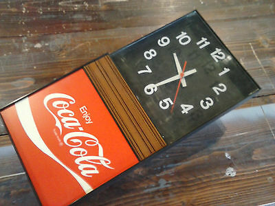 Vintage Lighted COKE / Coca Cola Wall Clock