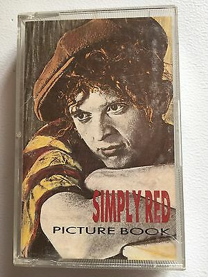 Simply Red Picture Book Cassette Tape Album Aae