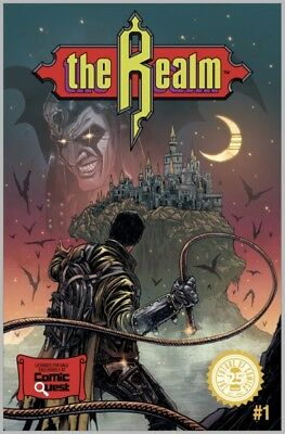 The Realm #1 (Image) Castlevania Homage Variant by Haun - 500 print run