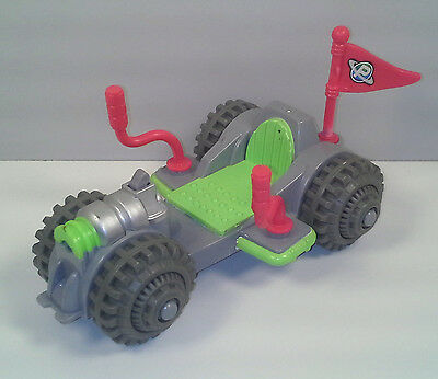 """2007 Moon Rover Car 6"""" Planet Heroes Action Figure Vehicle"""