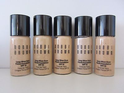Bobbi Brown Long Wear Even Finish Foundation SPF15 - 15ml Choose your color