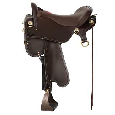 Tucker Saddlery T59 16.5 All New for 2017 T-Series Endurance Trail Wide Bar