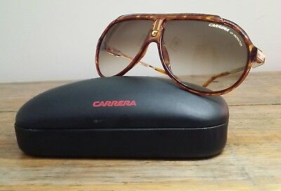 vintage Carrera ENDURANCE GOLD AVIATOR - MINT CONDITION sunglasses Small