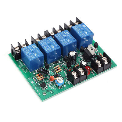 250V Power Time Sequence Board 0.2-4S Adjustable Sequential Controller Module UK