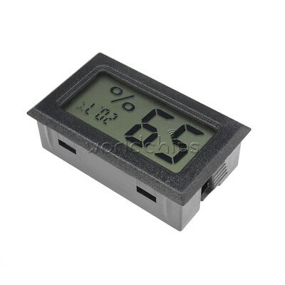 Mini Digital LCD Indoor Humidity Temperature Meter Thermometer Hygrometer WOUS