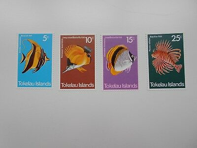Tokelau island  1975 Fishes un/m/mint