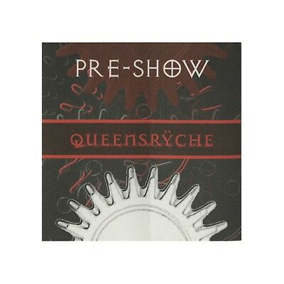 Queensryche authentic concert tour satin Backstage Pass preshow red