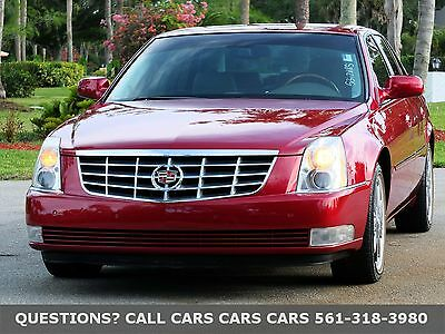 2006 Cadillac DTS VOGUE TYRES-ONLY 65K MILES-LIKE 07 08 09 10 FLORIDA IMMACULATE-CHROME WHEELS-SIRIUS/XM/LOW MILES-HEAT/AC SEATS-NONE NICER
