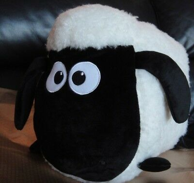 "NEW 14"" Shaun the Sheep BIG Plush"