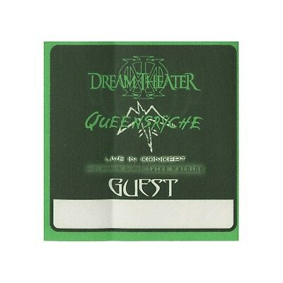 Queensryche authentic 2003 Tribe Tour Dream Theater satin Backstage Pass guest