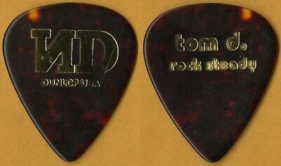 No Doubt Tom Dumont authentic 2001 Rock Steady tour custom stage Guitar Pick