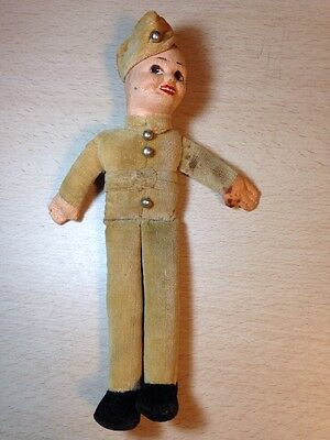"Vintage Norah Wellings British Officer 8"" Made In England"