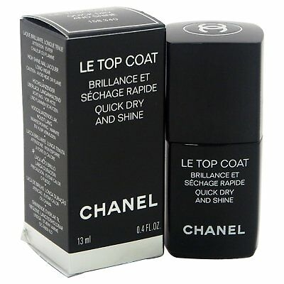 Chanel Le Top Coat Quick Dry And Shine 13ml - New