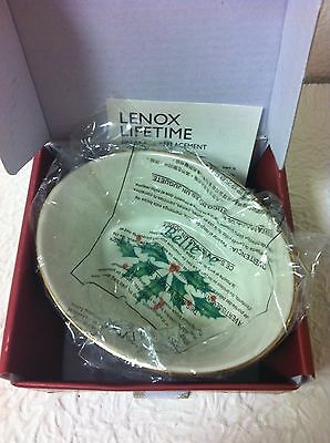 Lenox Holiday Oval Believe Dish Brand New With Tags
