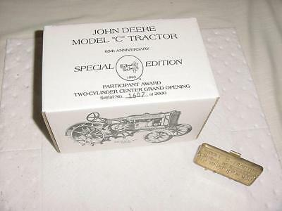 Two Cylinder Center Grand Opening Special Edition C Serial Number 1607 of  2000