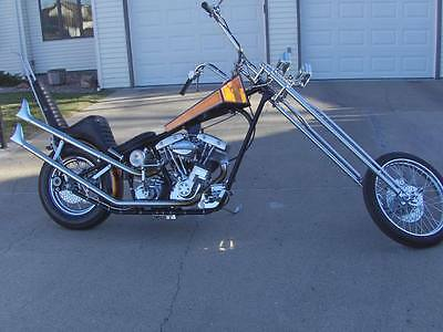 2013 Custom Built Motorcycles Chopper  70s chopper rolling Chassis.