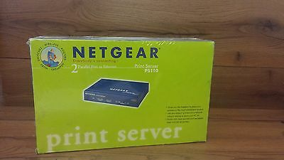 Netgear print server PS110.* In Sealed box*