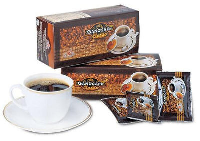1 Box GANO EXCEL Gano Black Cafe Coffee Classic Ganoderma 30 Sachets FREE SHIP