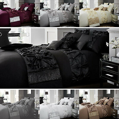 Vienna Luxury Bubbles Duvet Covers Quilt Covers Bedding Sets All Sizes Available