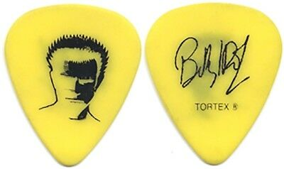 Billy Idol authentic band 2005 concert tour signature Guitar Pick Tortex logo