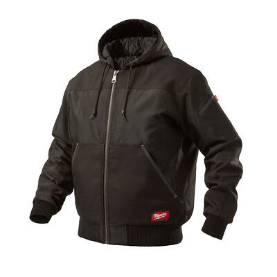 Milwaukee 254BL GRIDIRON Wind and Water-Resistant Base Hooded Jacket (Black) New