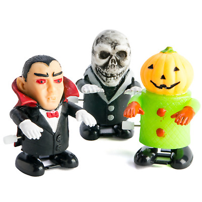 Halloween Wind Up Monster Walk Toys